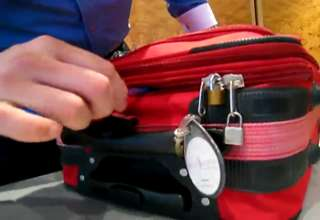 How to Open a Locked Suitcase view on ebaumsworld.com tube online.